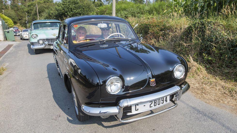 Todo un abanico de vehículos participaron este domingo en el Classic Laxe. ¡Míralos!