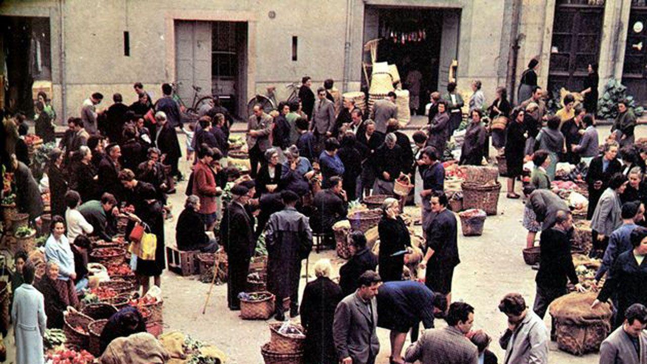 Imagen reproducida en la revista Asturias Semanal, n.º 48, del 18 de abril de 1970, conservada en el Muséu del Pueblu d'Asturies