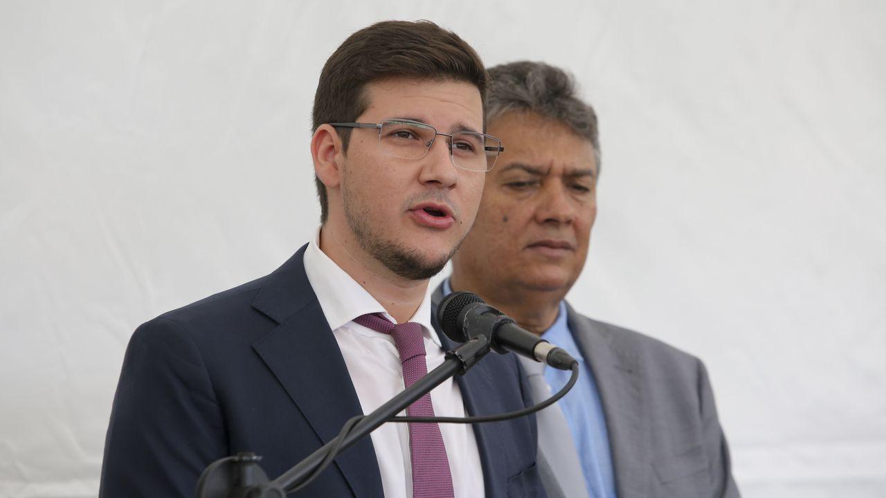 Rafael Guidoni estuvo acompañado por su padre, cofundador del grupo empresarial brasileño