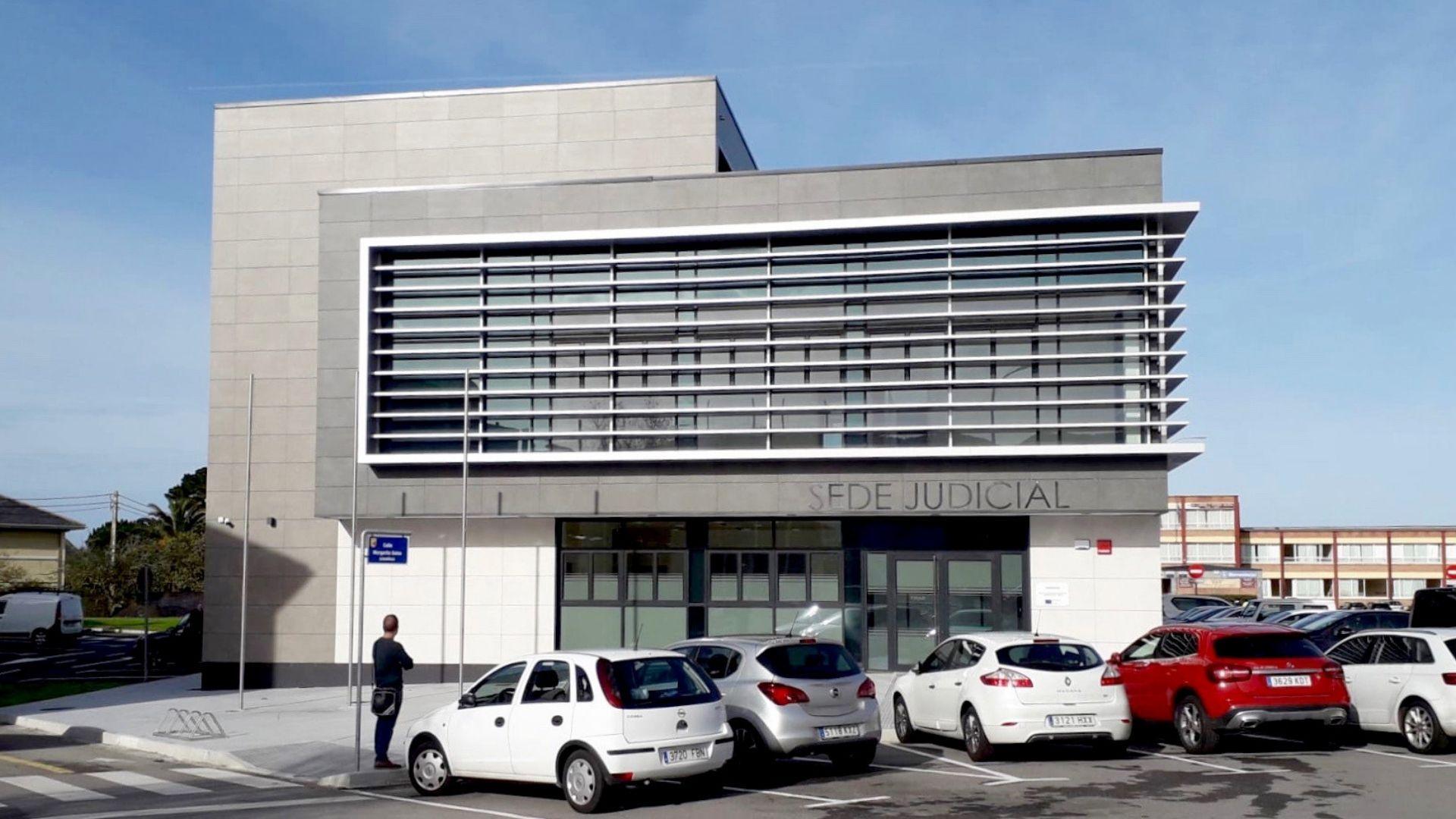 Sede del juzgado de Luarca
