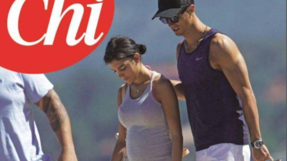 Cristiano y Georgina, embarazados según la revista CHI