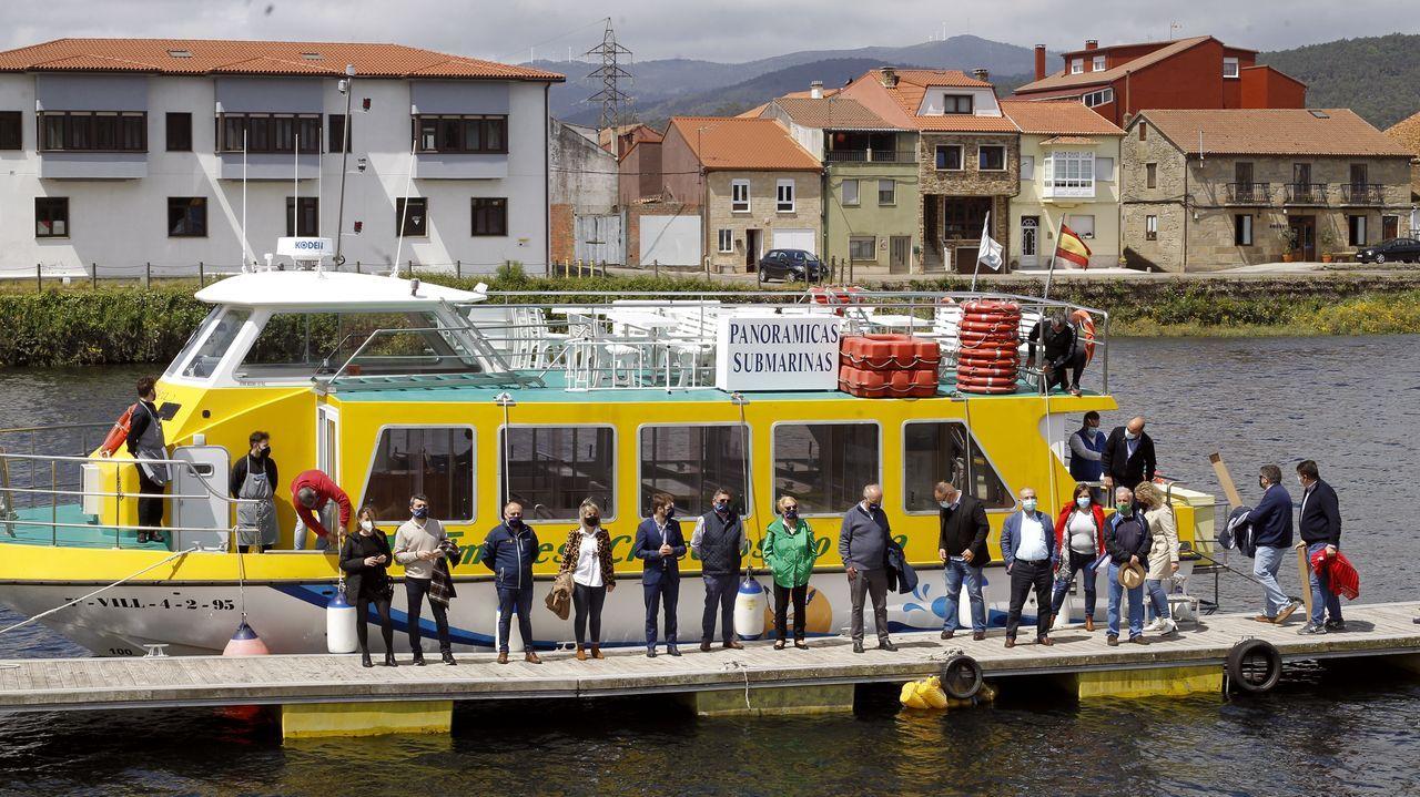 Roi Casal pon a banda sonora a Mar de Santiago en Fitur