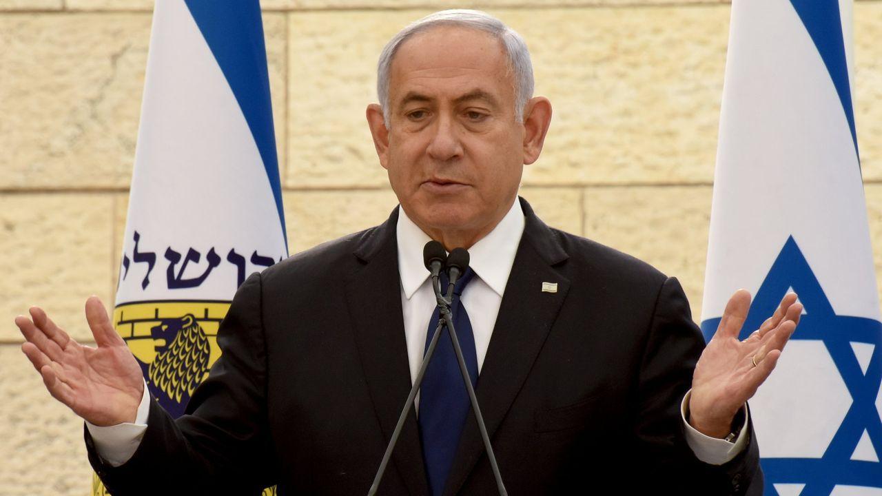 Nuevo documental de Eduardo Soutullo.El primer ministro en funciones de Israel, Benjamin Netanyahu, que intenta evitar que se dé a otro el mandato de formar Gobierno