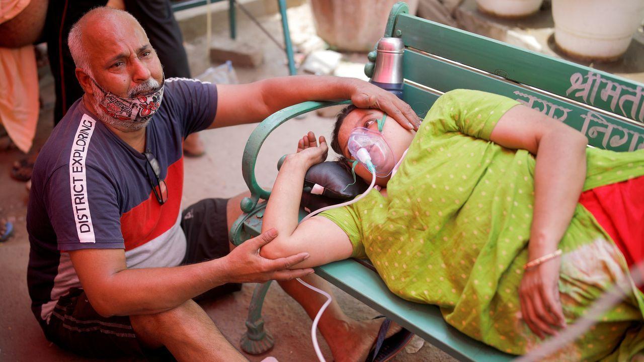 Catástrofe sanitaria en la India.Iria Pinheiro presenta «Anatomía dunha serea»