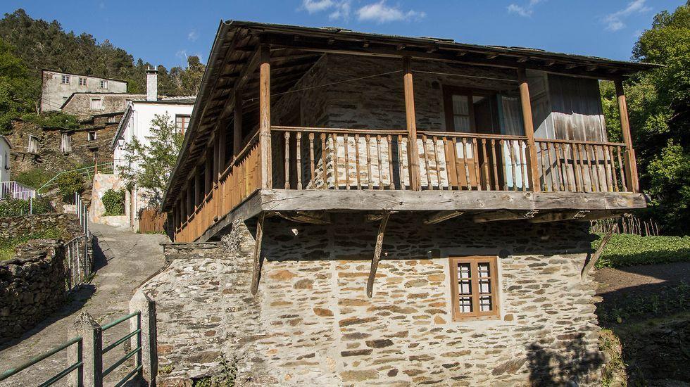 A Ferrería destaca por su arquitectura tradicional de montaña