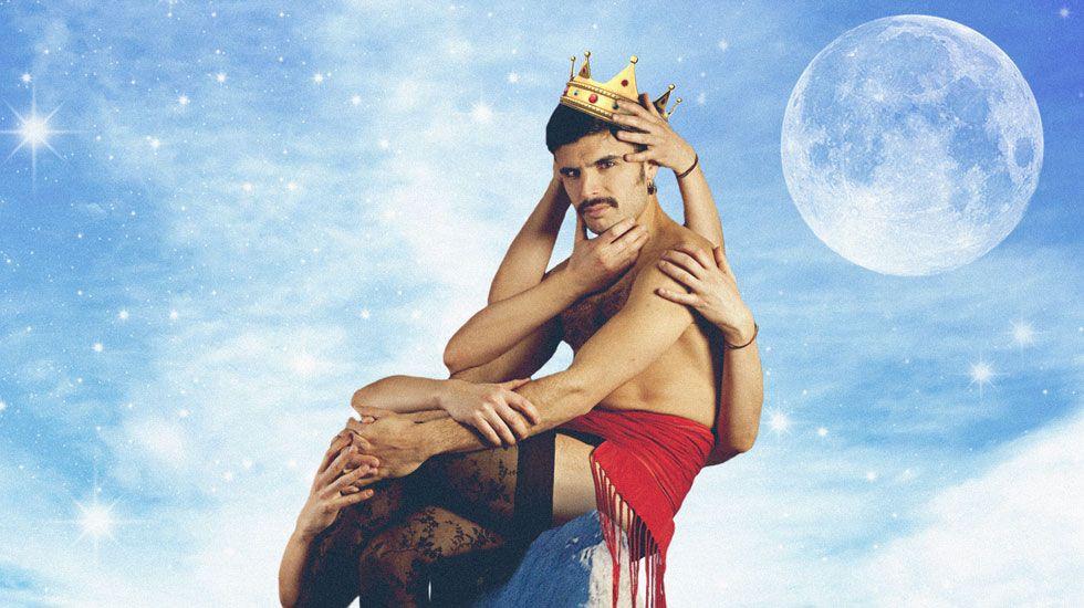 Detalle de la portada del primer EP de Rodrigo Cuevas, «Prince of Verdiciu»