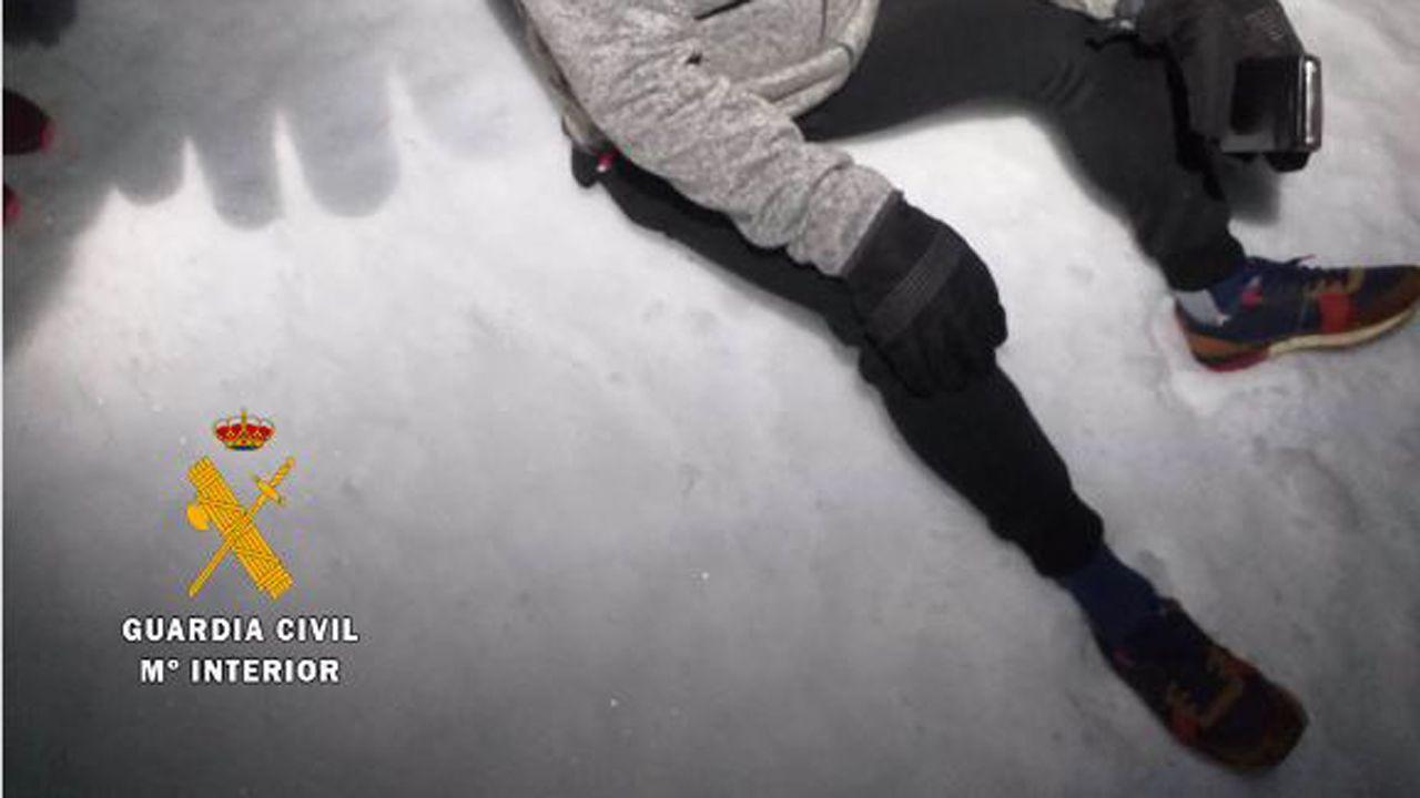 El montañero dominguero, en zapatillas