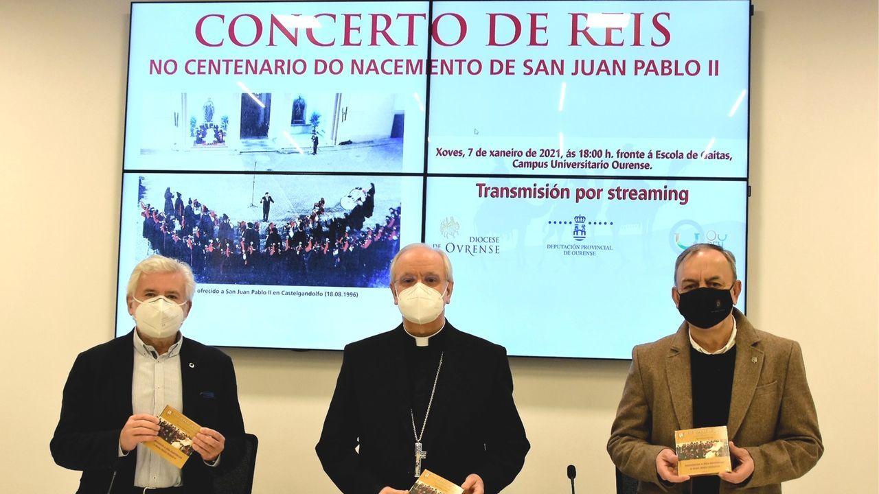 Imagen durante la presentación del evento musical este lunes