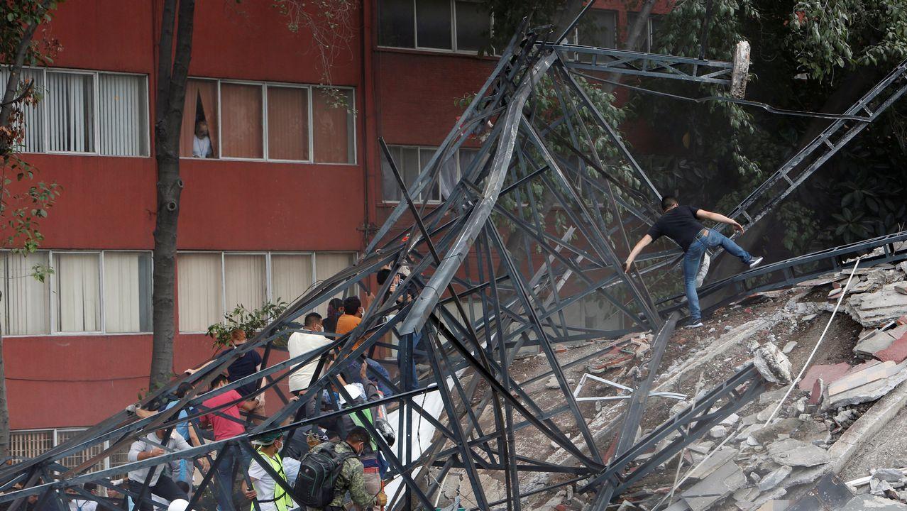 Un nuevo terremoto asola México.SERGIO EGEA, EL DÍA DE SU DESPEDIDA