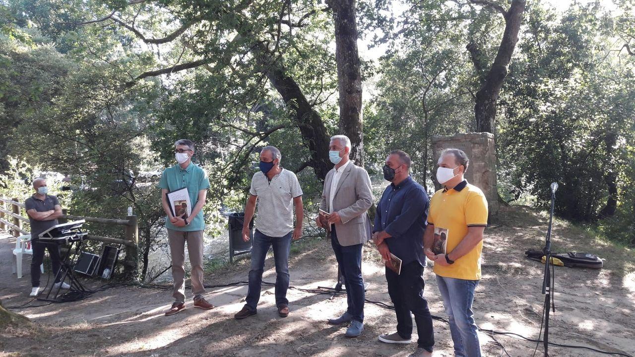 O BNG celebrou na campaña un acto na Quintana entre medidas de prevención sanitaria contra o covid-19