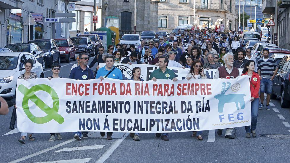 Marcha anti-Ence.