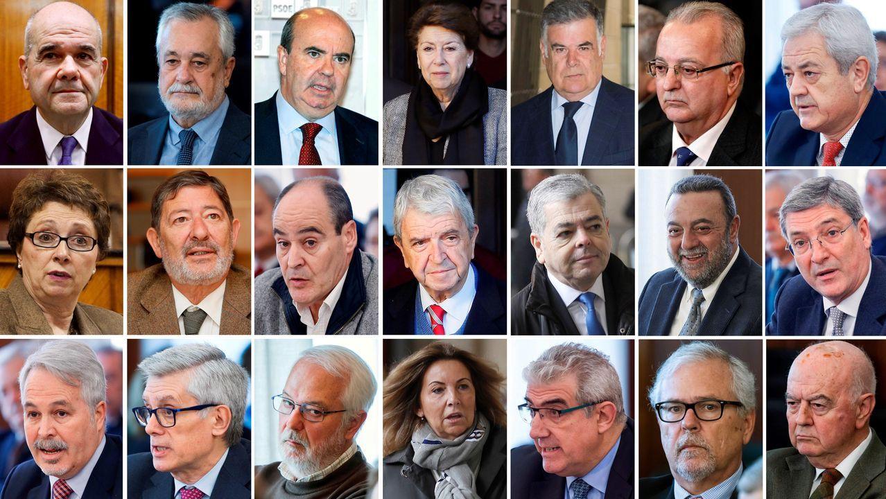 Josep Antoni Duran i Lleida, este viernes en A Coruña, donde recibió el título de procurador de honor