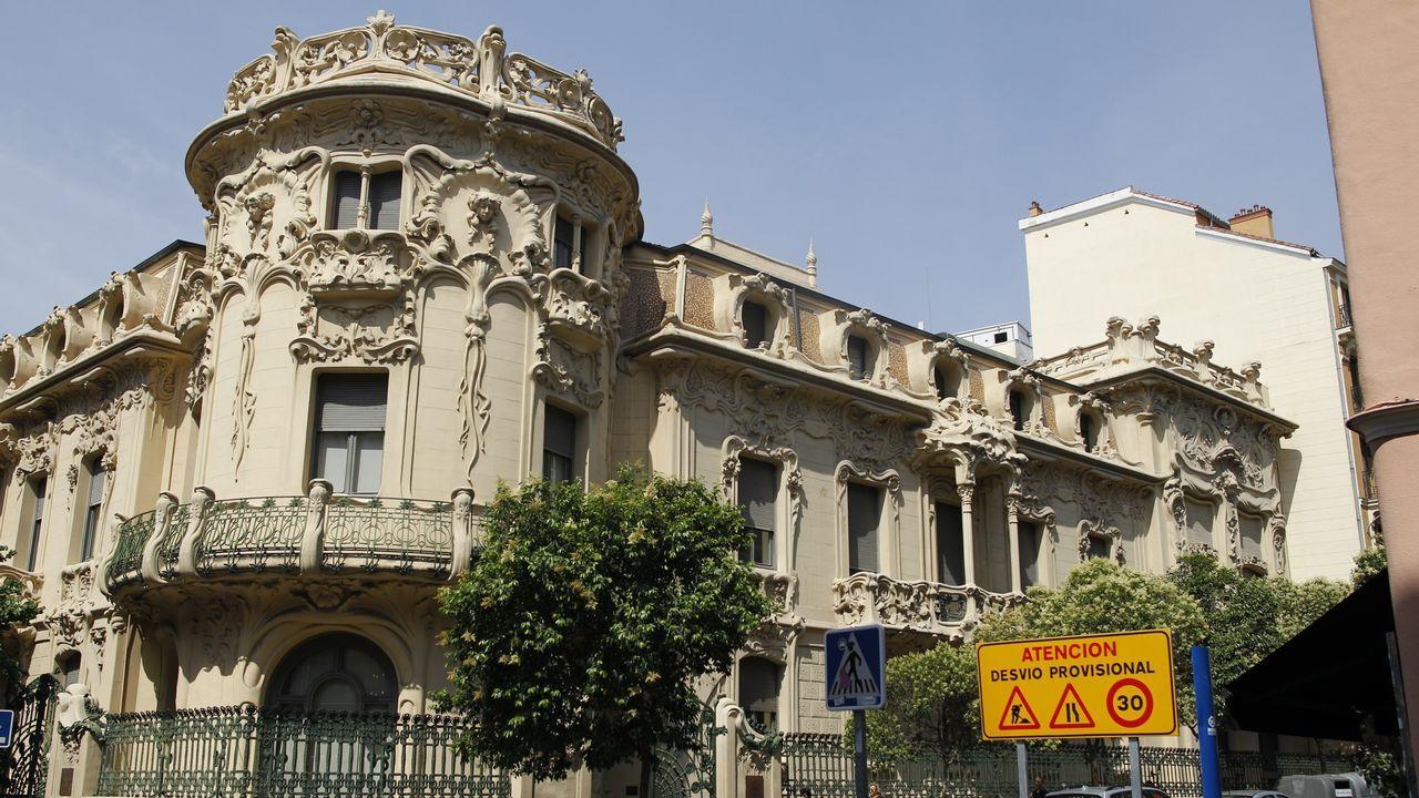 Sede de la Sociedad General de Autores y Editores (SGAE), en Madrid