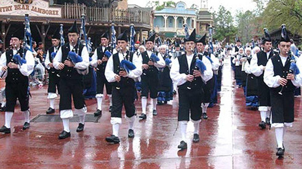 Concierto San Mateo.Banda de Gaitas Ciudad de Oviedo