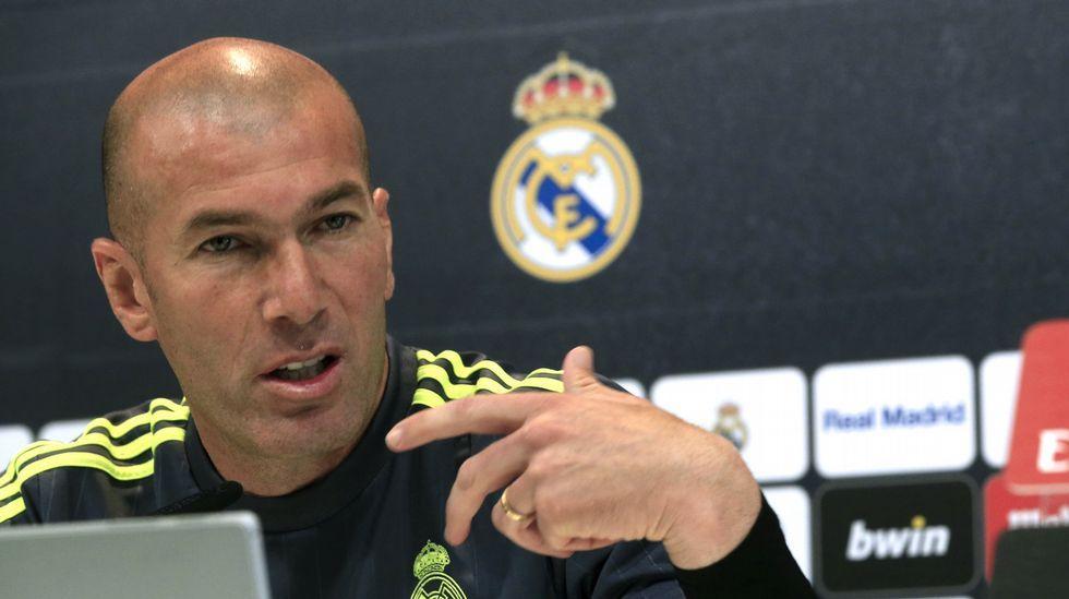 Zidane apela a la tranquildad tras la debacle en Alemania