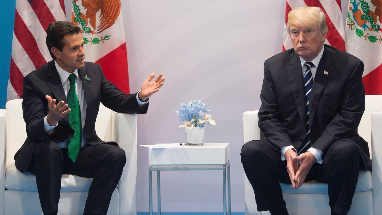 Efectivos de la UME se desplazan a México para colaborar en las tareas de rescate.Protestas contra Trump en Arizona
