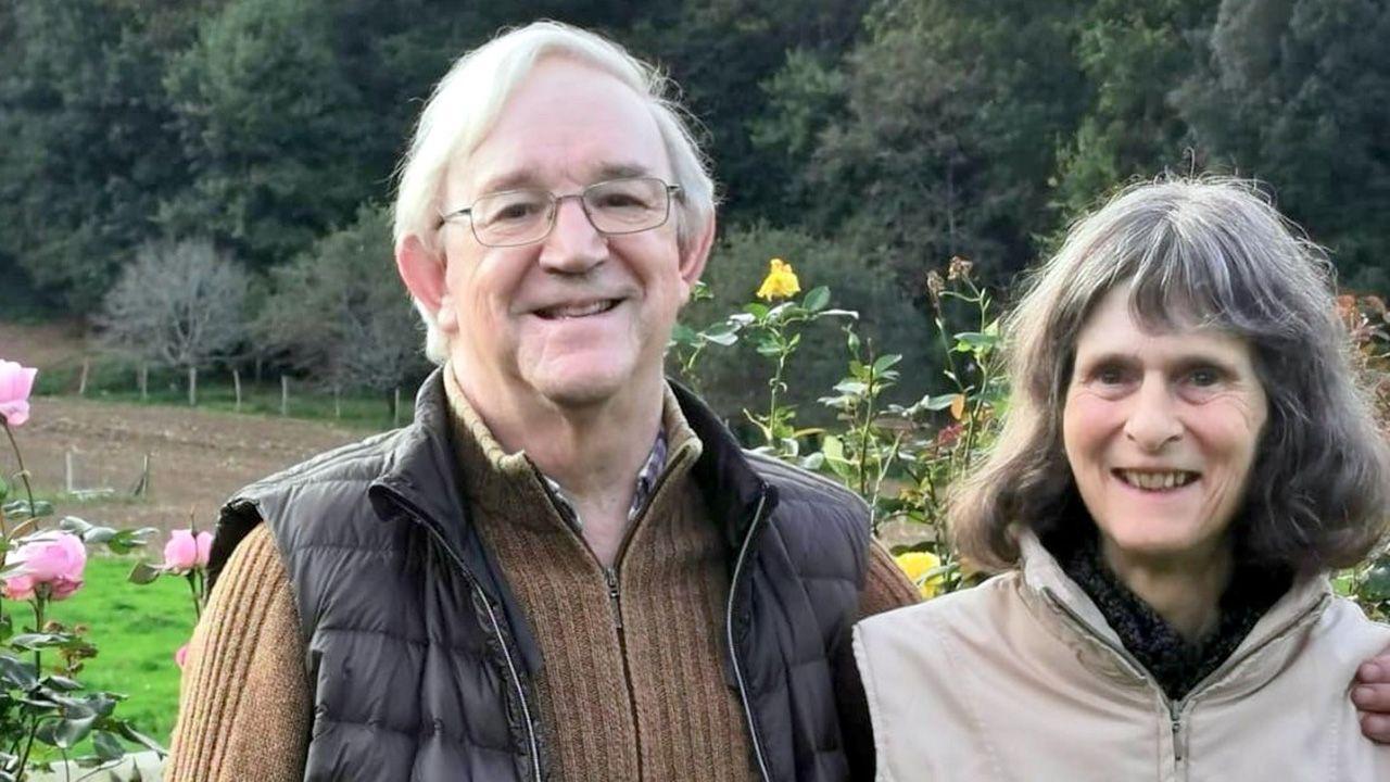 Michael y Bárbara Wilkinson, matrimonio inglés que donó la prensa tipo Gutenberg