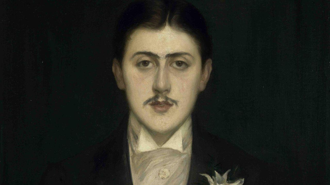Retrato de Proust a los 21 años realizado por el pintor Jacques-Emile Blanche en 1892, un óleo que se conserva en el parisino museo d'Orsay