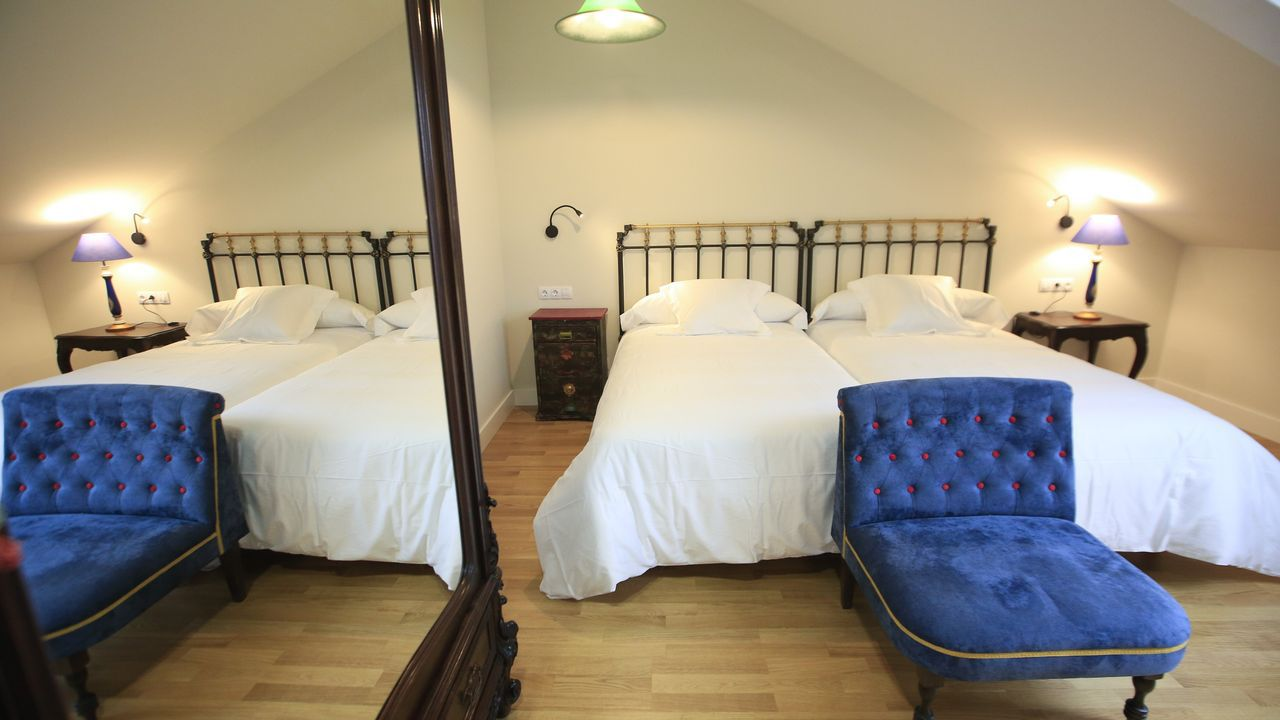 Todas las habitaciones del hotel son dobles