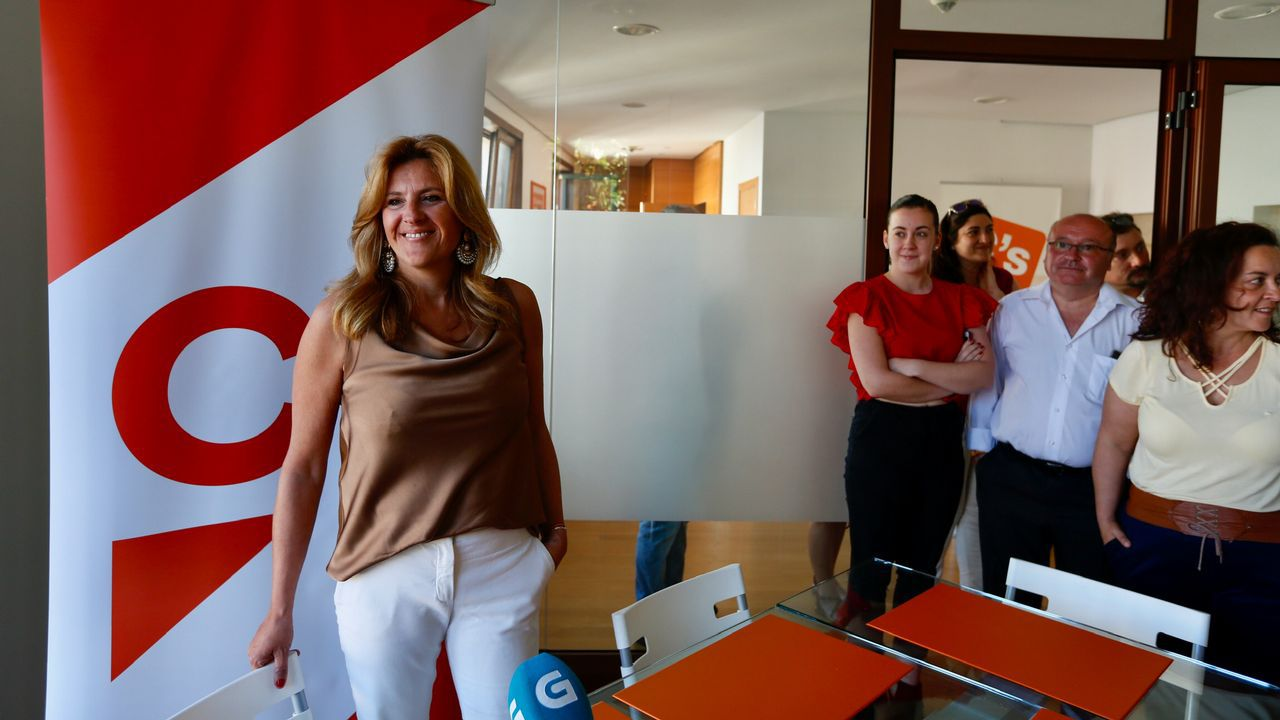 María Rey. Pontevedra. Abandona por las diferencias con la dirección de Ciudadanos