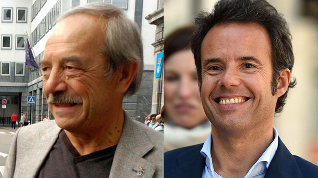 En directo: Sigue el pleno ordinario del Ayuntamiento de A Coruña.Wenceslao López e Ignacio Cuesta