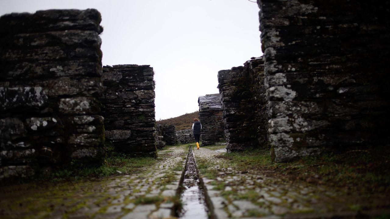 Ruinas del hospital de peregrinos de Montouto