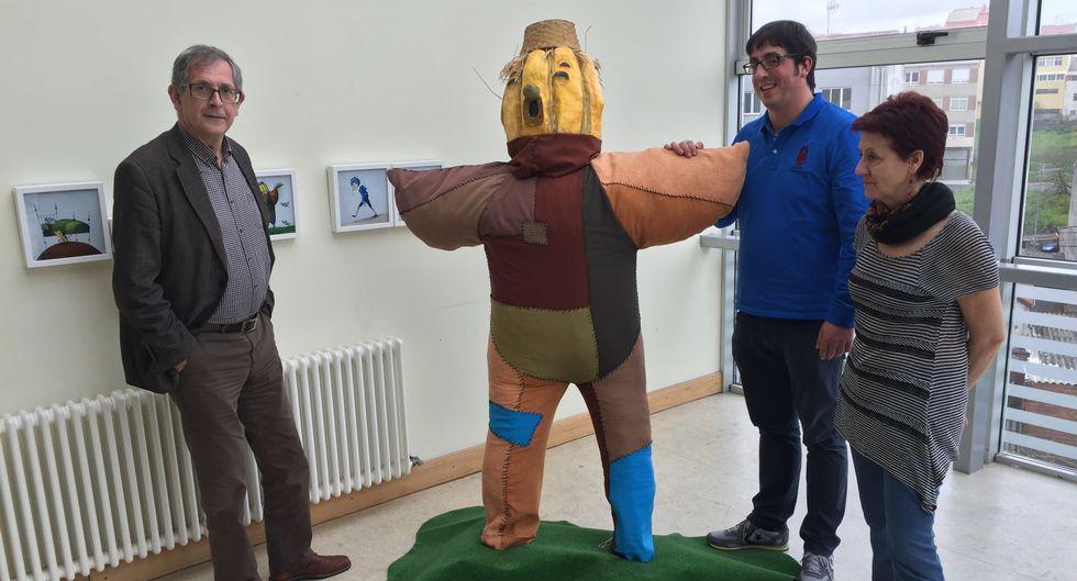 <span lang= gl >Ferrero, Trigo e Vilariño, xunto á exposición de Kalandraka que acompará os actos</span>