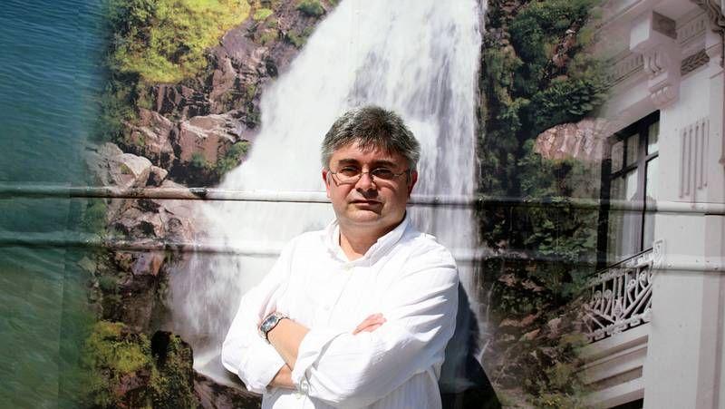 Premio Azorin.El viveirense Ramón Pernas.