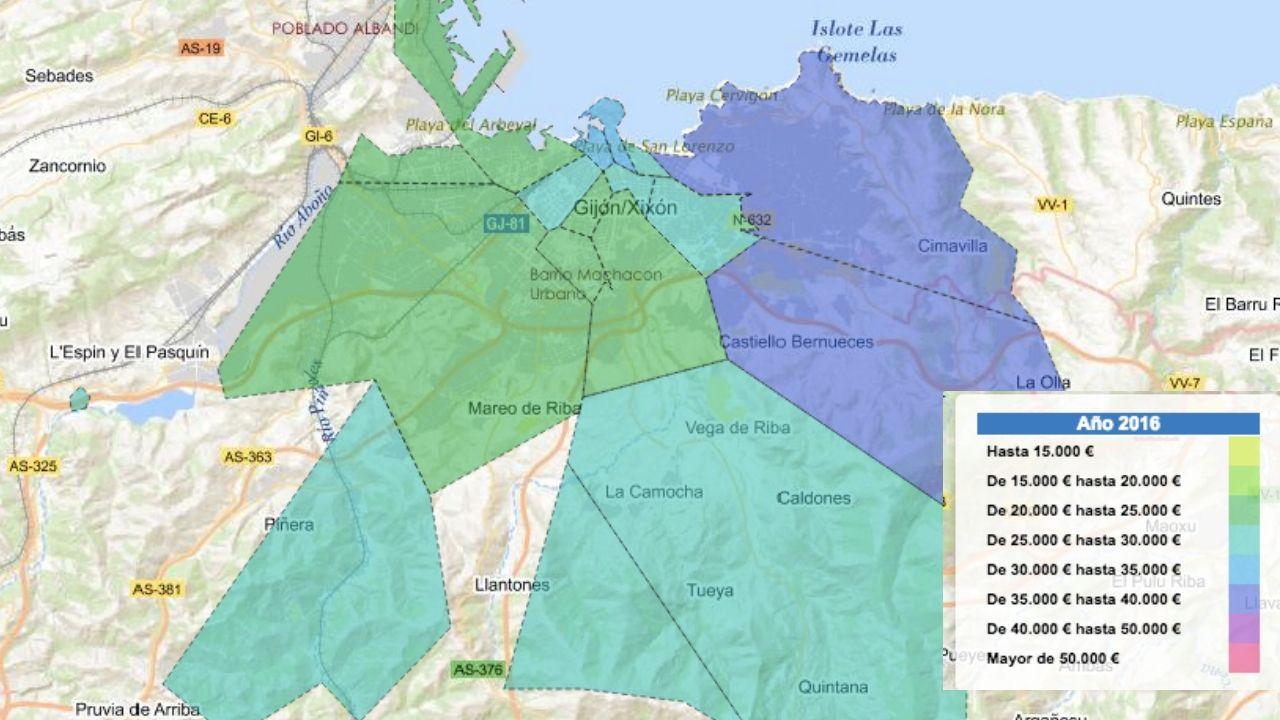 Los «#10yearschallenge» de Ourense.Mapa genético de España. Galicia, en azul, presenta el mayor aislamiento genético entre poblaciones.