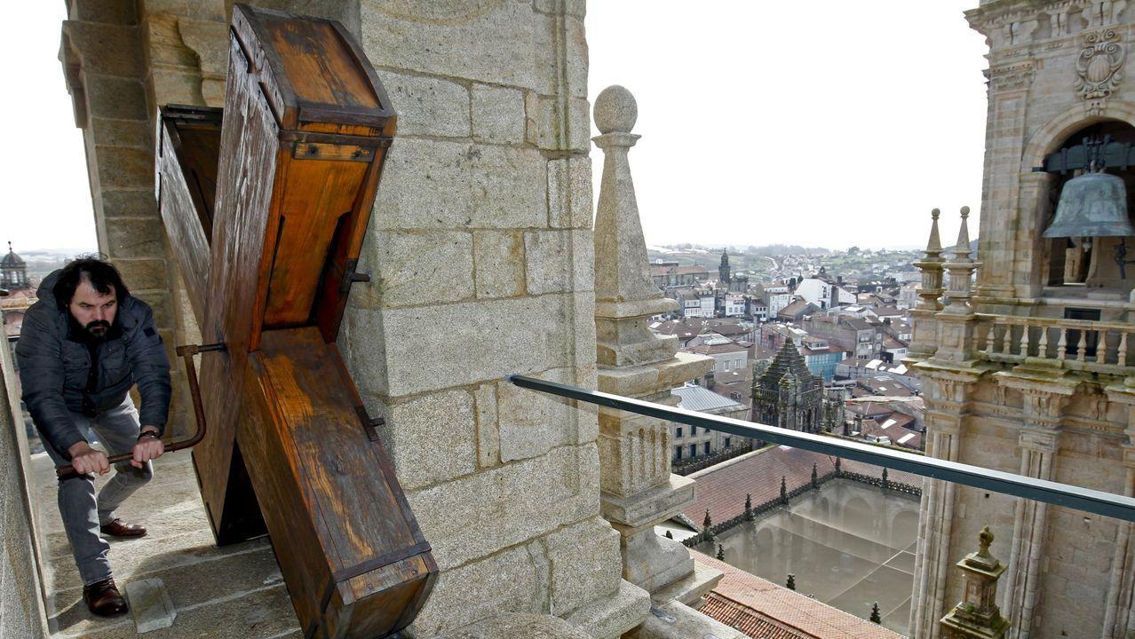 Santiago desde la torre de la Carraca de la Catedral