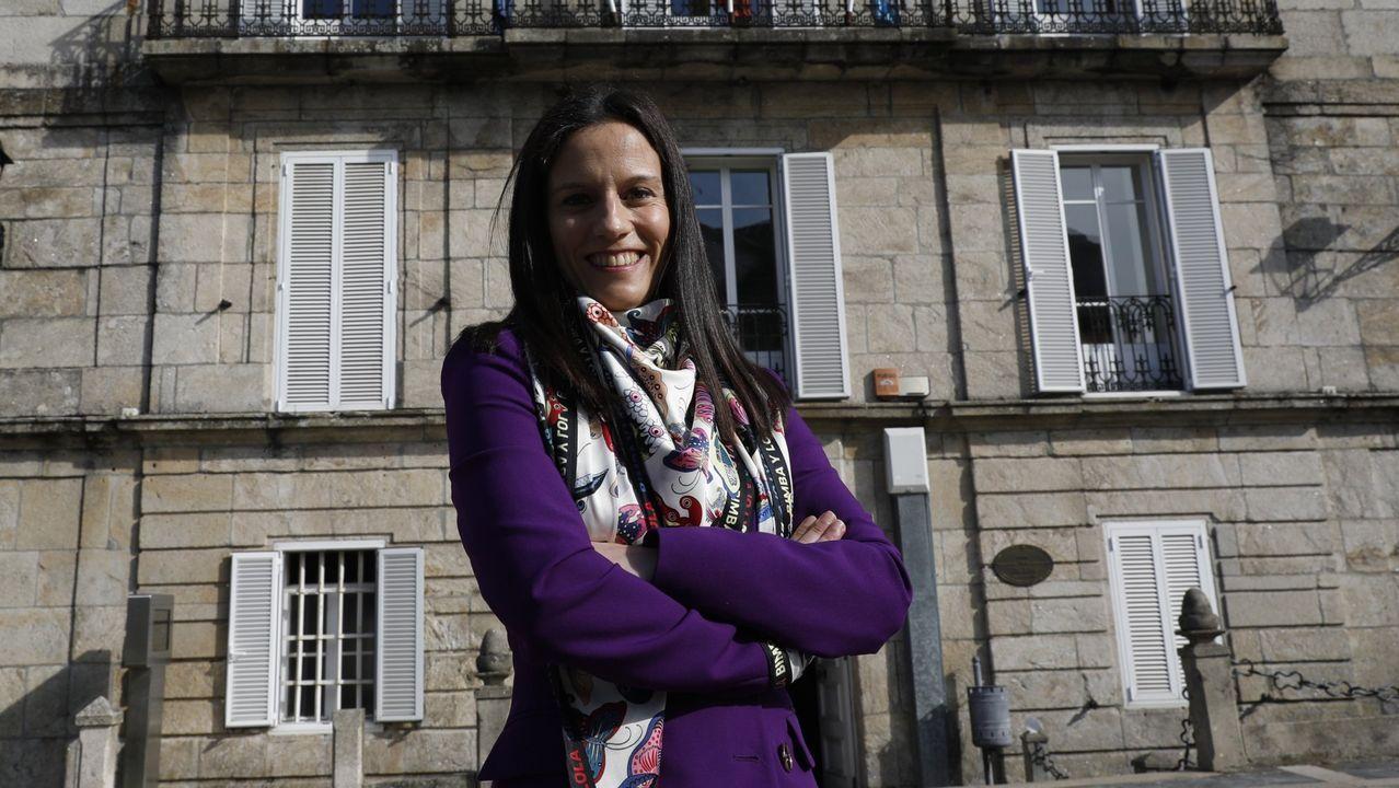 Sandra Quintas, alcaldesa de Bande