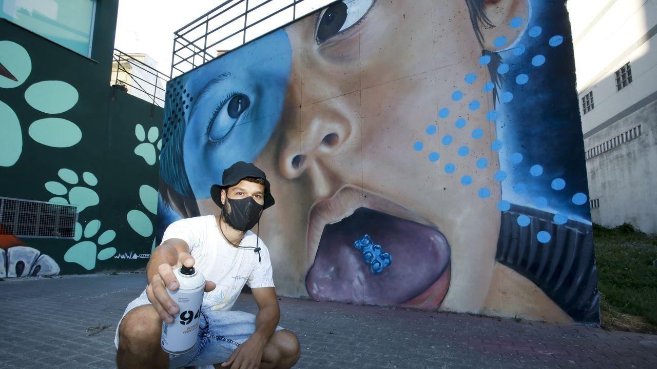 Diego As es un artista urbano lucense