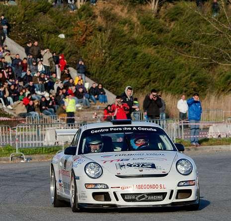 El Porsche 997 de Ares y Bañobre dominó el Máster desde las mangas del sábado.