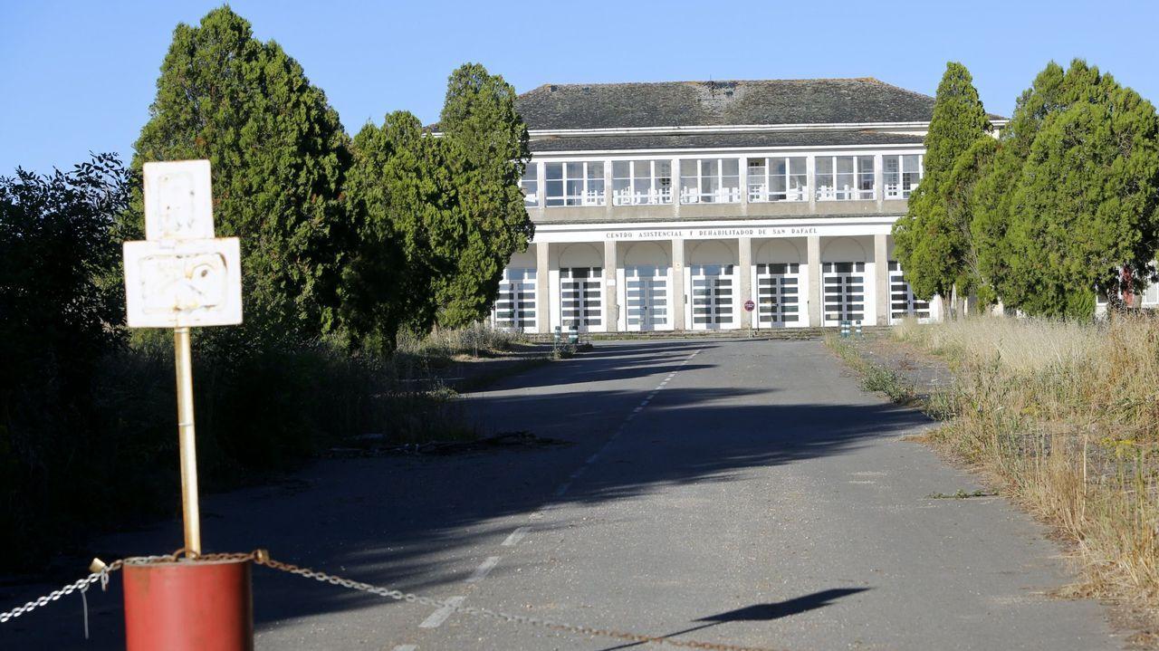 El San Rafael está vació y sin uso desde que se marcharon los internos, a comienzos del 2012