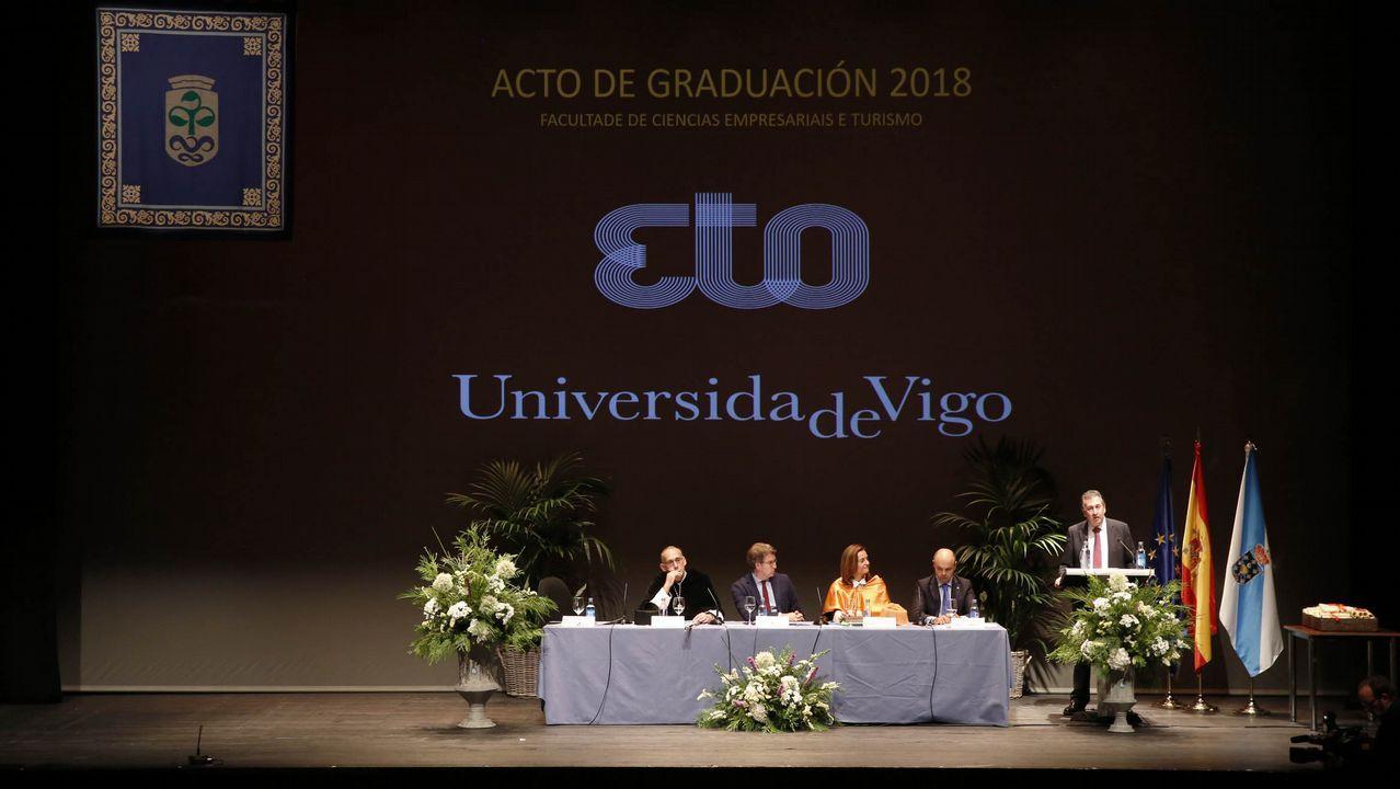 Los alumnos de Empresariales y Turismo se gradúan.Foto de archivo de Francisco Jorquera
