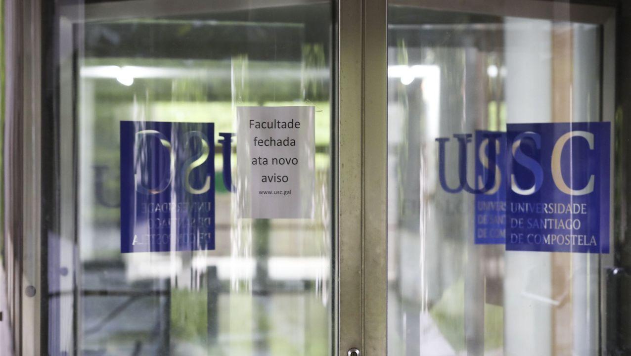 dom.Facultad de Filología de la USC cerrada este curso por coronavirus