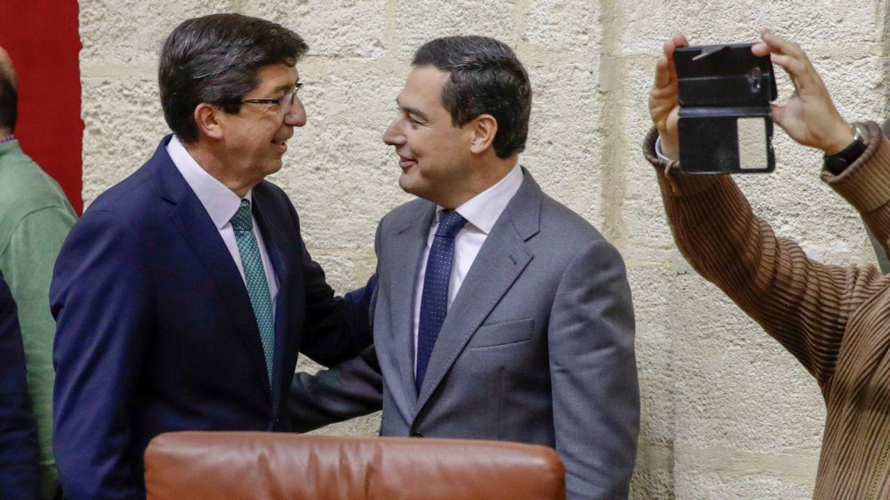 Los ocho mineros asturianos son la élite en rescates en profundidad.El presidente de VOX, Santiago Abascal