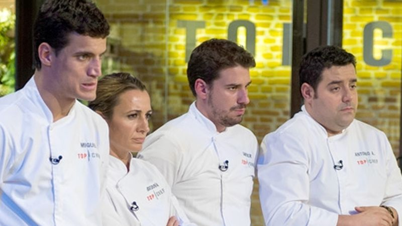 Top Chef.Crujeiras, en A Estación, que ha conseguido por cuarto año consecutivo la preciada estrella.
