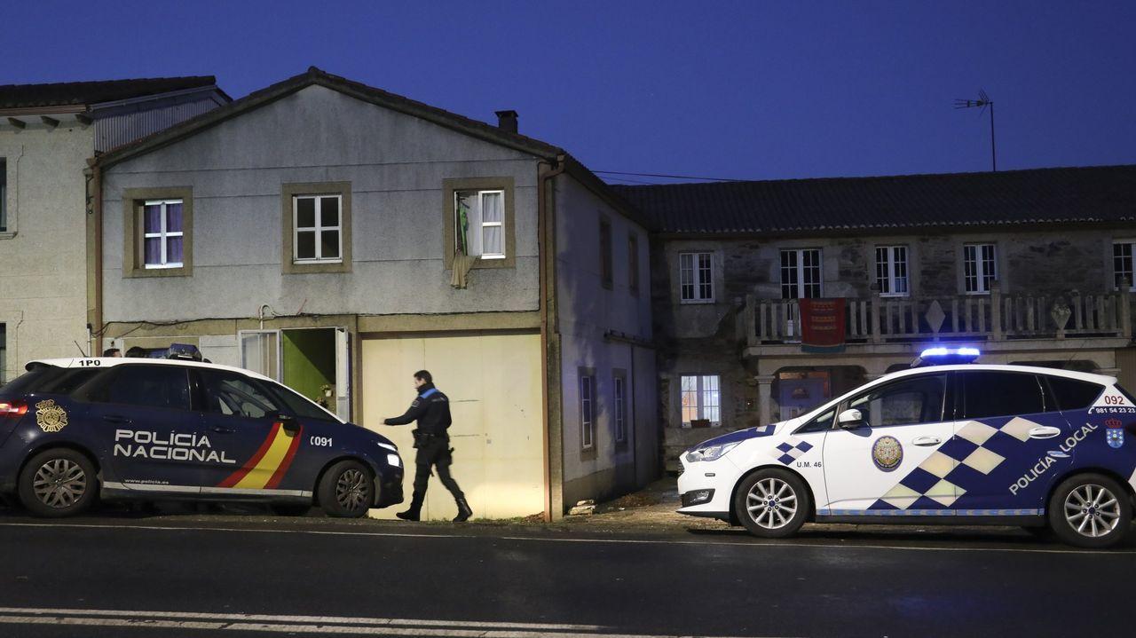 Los atracadores fueron finalmente detenidos en una vivienda en la que residían en Lavacolla