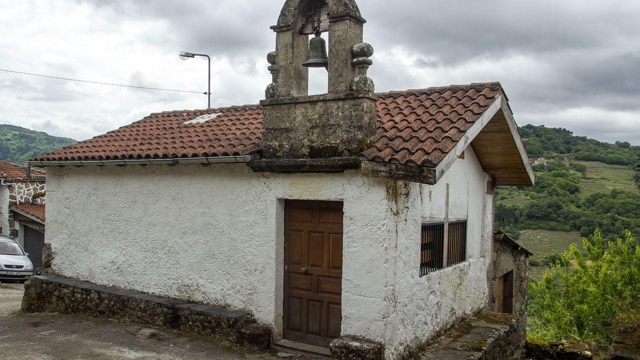 La capilla de San Antonio era el centro de una popular romería