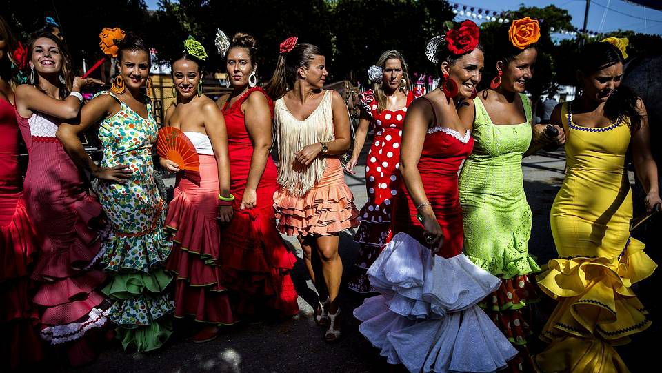 Imagen de la Feria de Málaga de este año
