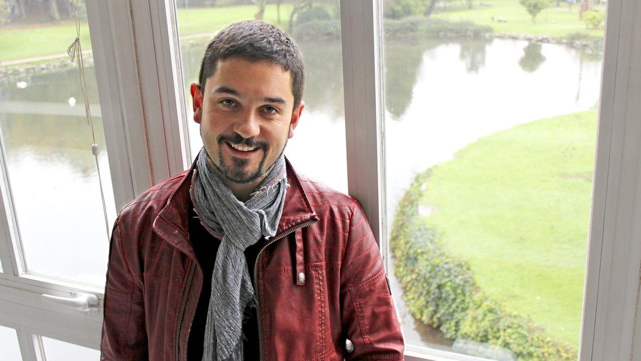 El compositor gallego Fernando Buide