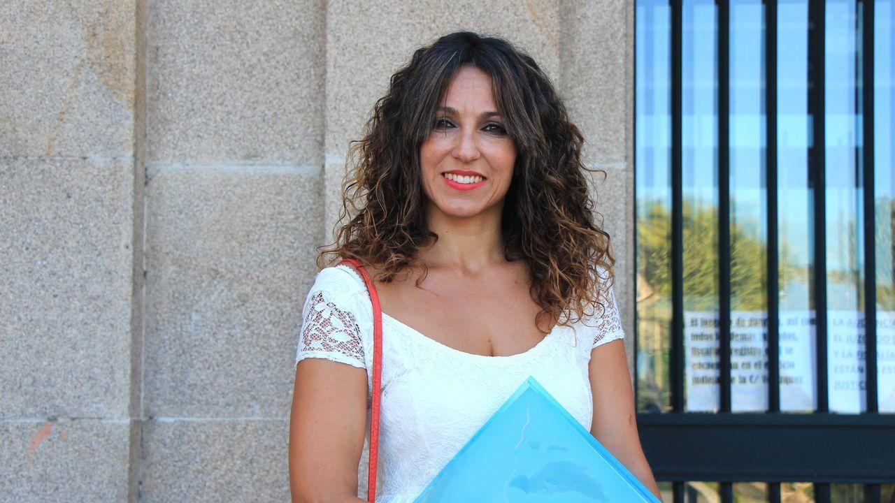 Laura Nóvoa, exconcejala de Democracia Ourensana