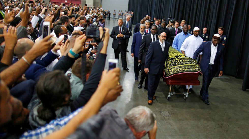 El concierto de Dani Martín, en imágenes.Funeral de Mohamed Alí