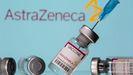 Viales de la vacuna de AstraZeneca