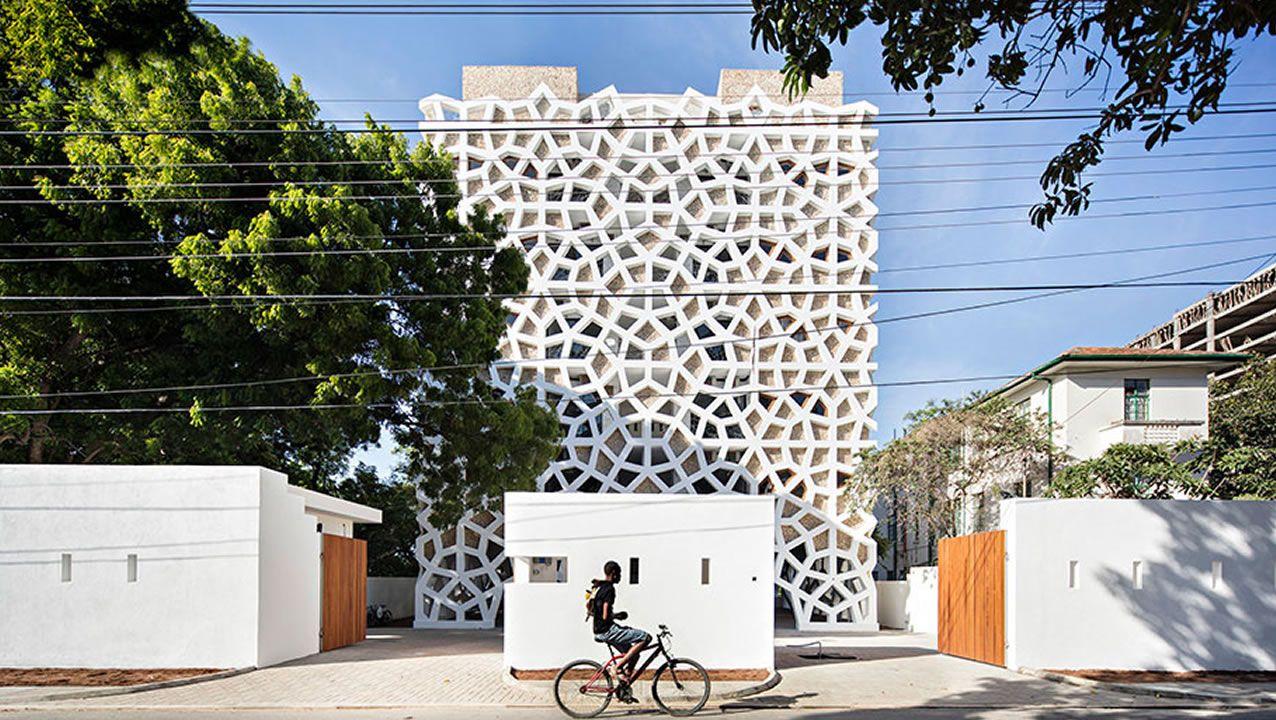 «Se convirtió en un icono en Mombasa», enfatiza con orgullo el santiagués. Arquitectos: Urko Sánchez Architects / Consultores estructuras: Mecanismo