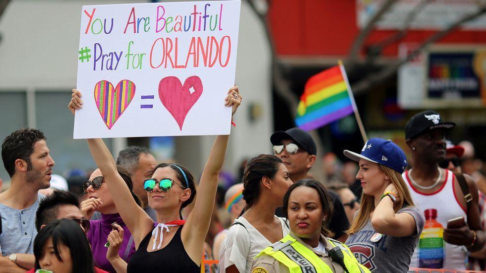 Las conversaciones de Omar Mateen con la Policía.Desfile del Orgullo Gay en Los Ángeles