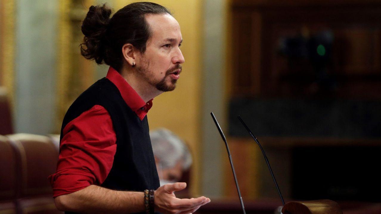 Pedro Sánchez, durante su intervención en el Senado este martes