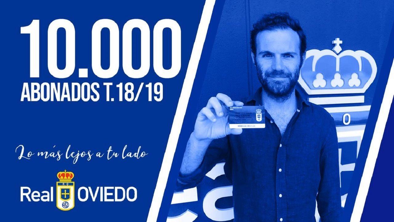 El Real Oviedo supera los 10.000 abonados