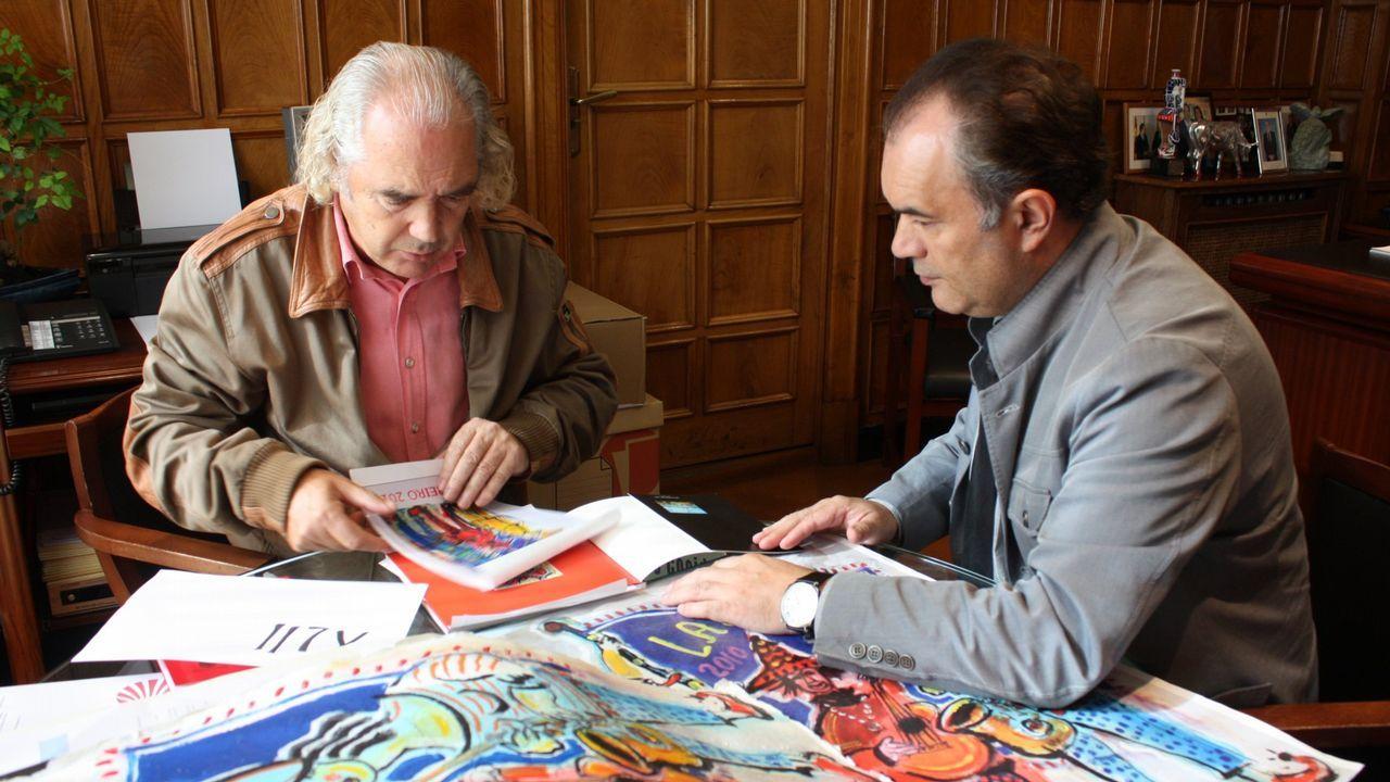 Así son los dos candidatos que rivalizan por liderar el PSdeG.«Sempre Xonxa», de Chano Piñeiro